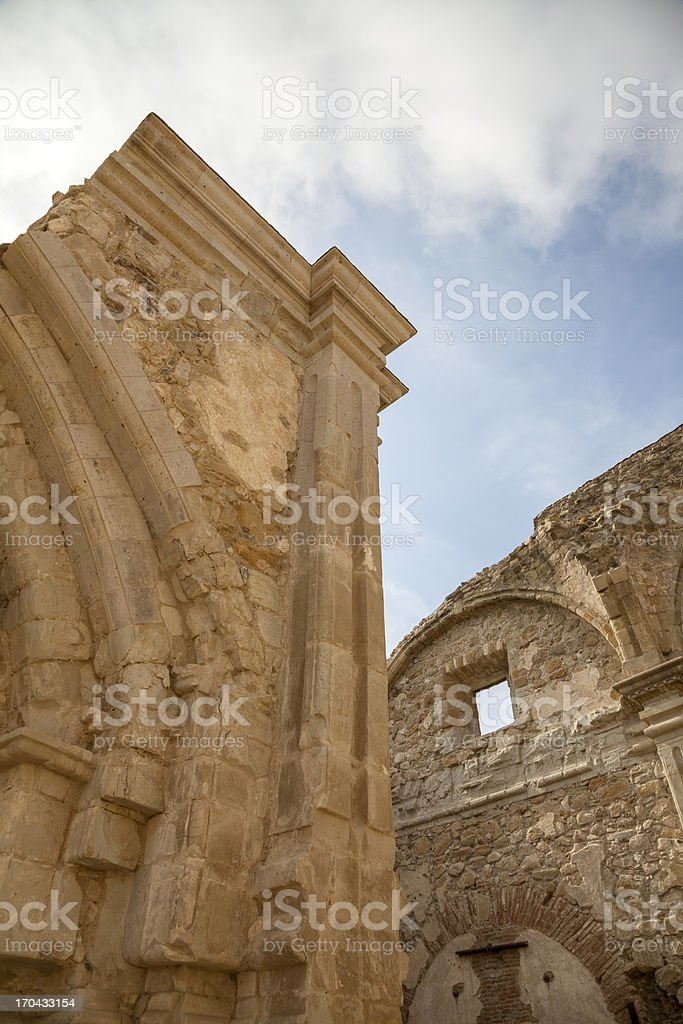 The Great Stone Church royalty-free stock photo