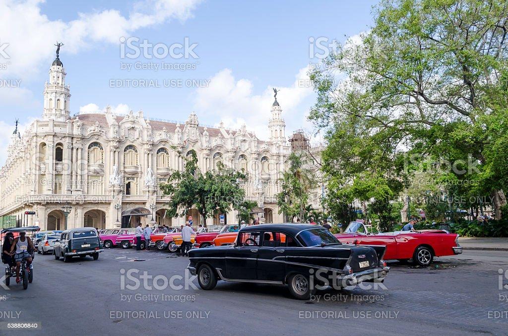 The Great Theater in Havana. stock photo