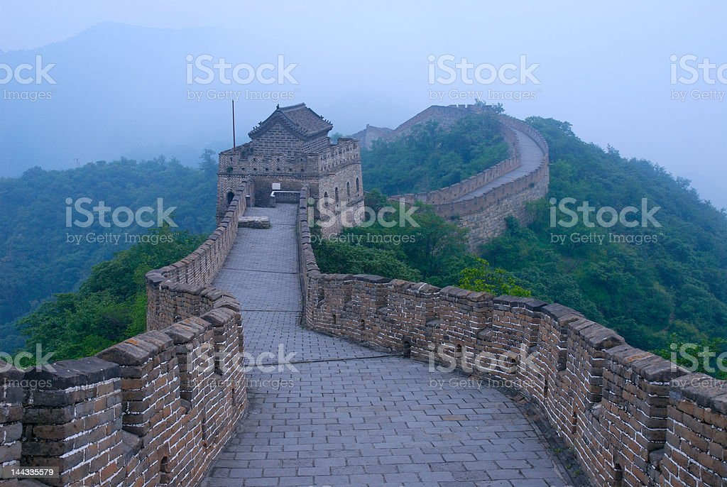 The Great Wall, China royalty-free stock photo