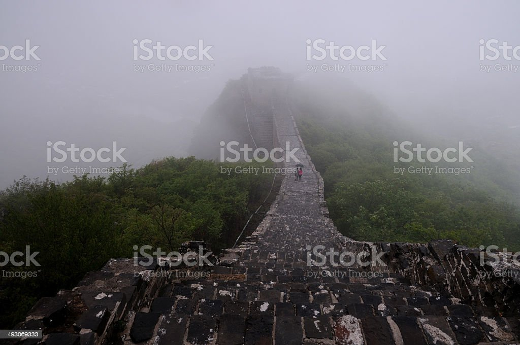 The Great Wall of  Simatai stock photo