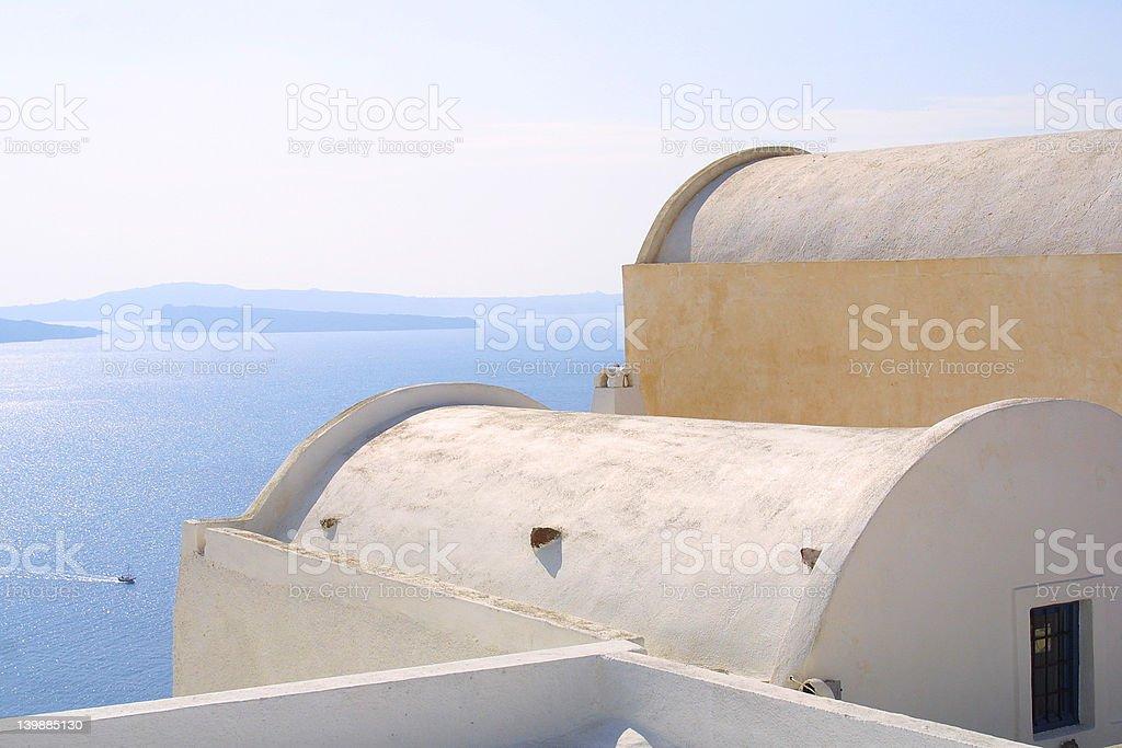 The Greece Sky royalty-free stock photo