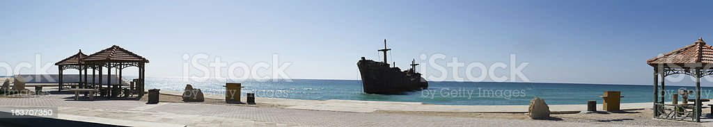 The greek Ship royalty-free stock photo