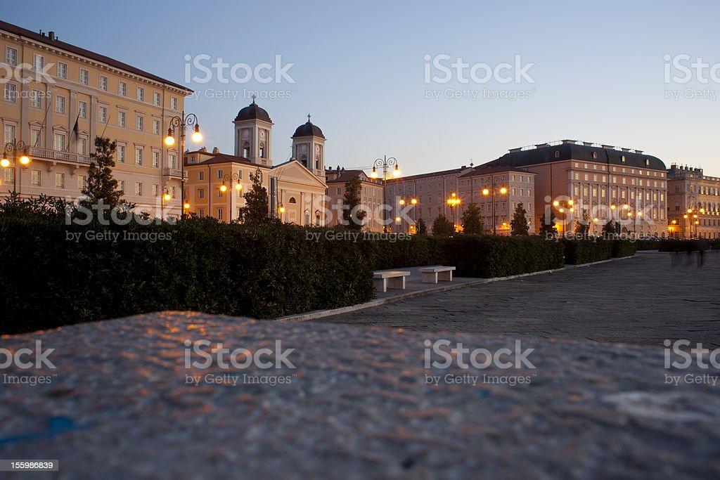 The Greek-orthodox Church of S.Nicholas, Trieste royalty-free stock photo