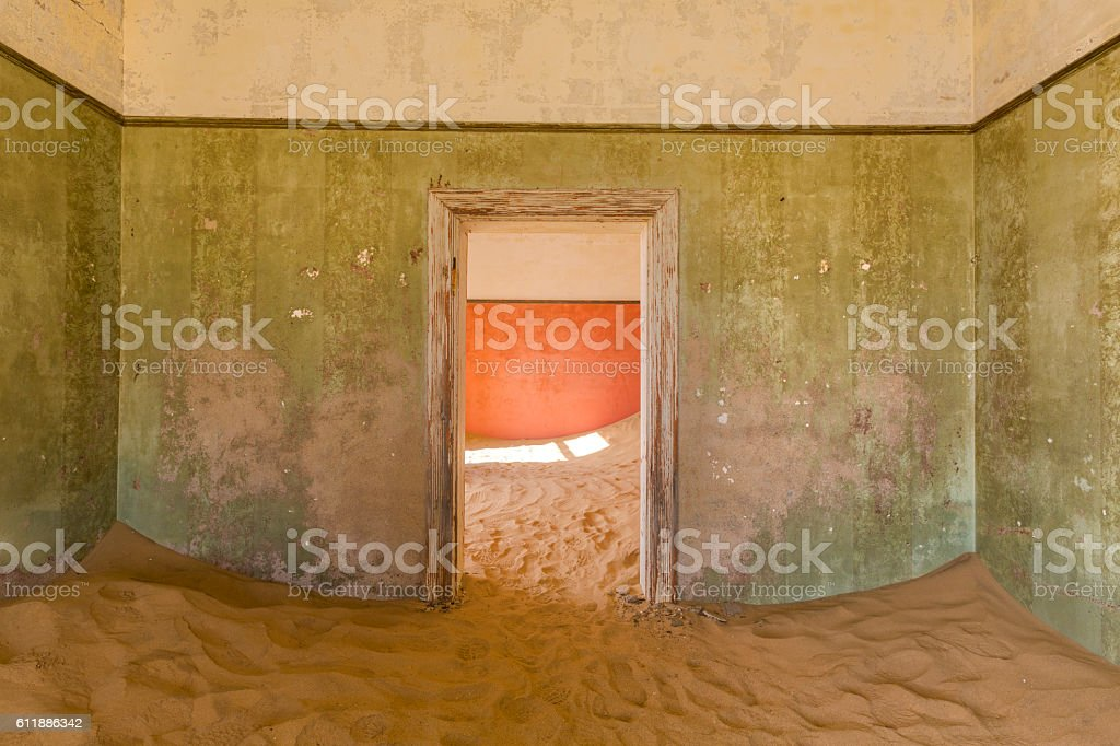 The green room stock photo