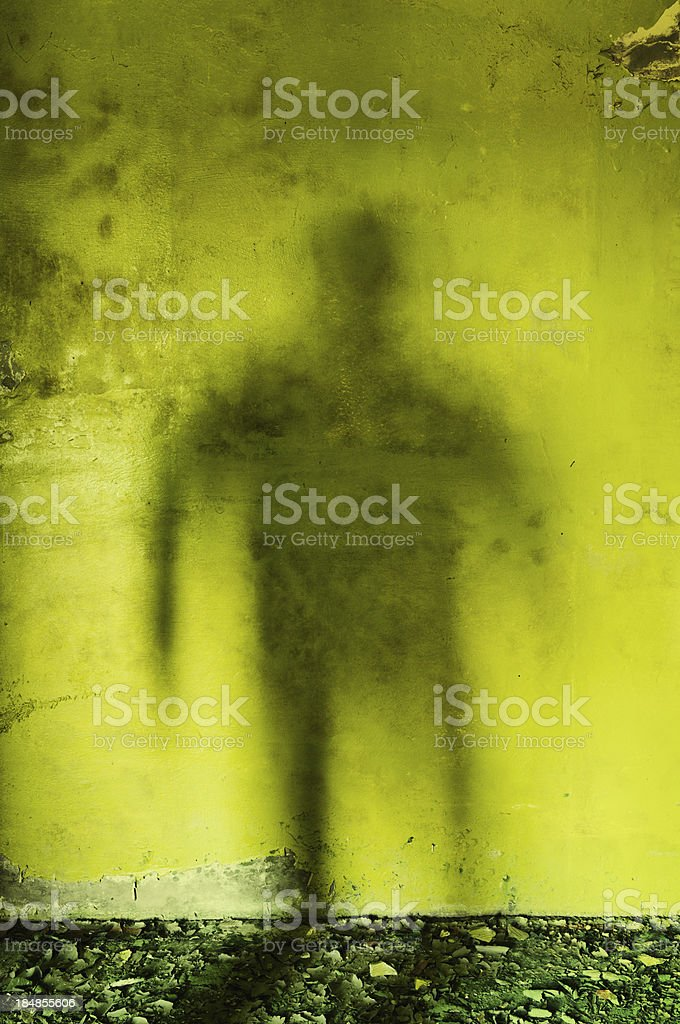 The Green Shadow stock photo