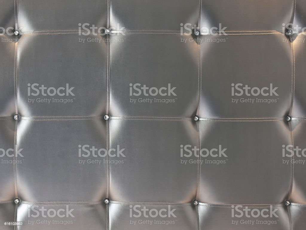 The grey leatherette stock photo