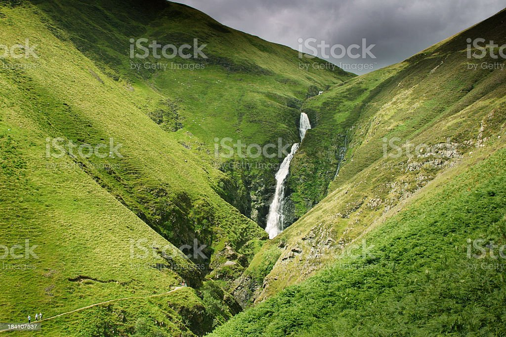 The Grey Mare's Tail stock photo