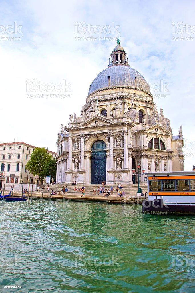 The Gritti Palace, Venice stock photo