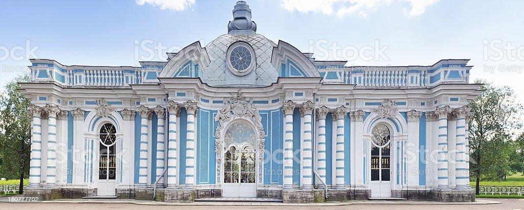 The Grotto pavilion in Katherine's Park,Tsarskoe Selo (Pushkin) royalty-free stock photo