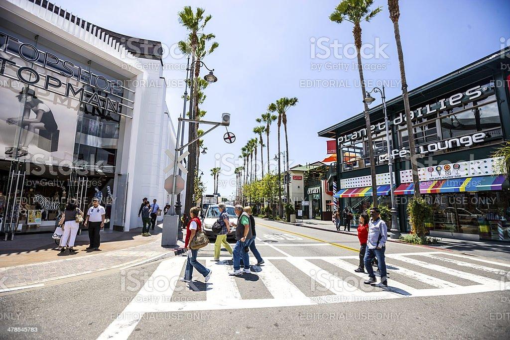 The Grove - Los Angeles stock photo
