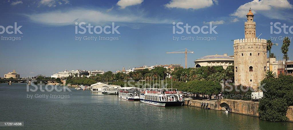 The Guadalquivir royalty-free stock photo