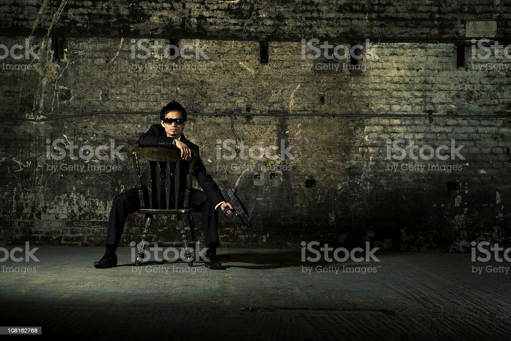 the guard royalty-free stock photo