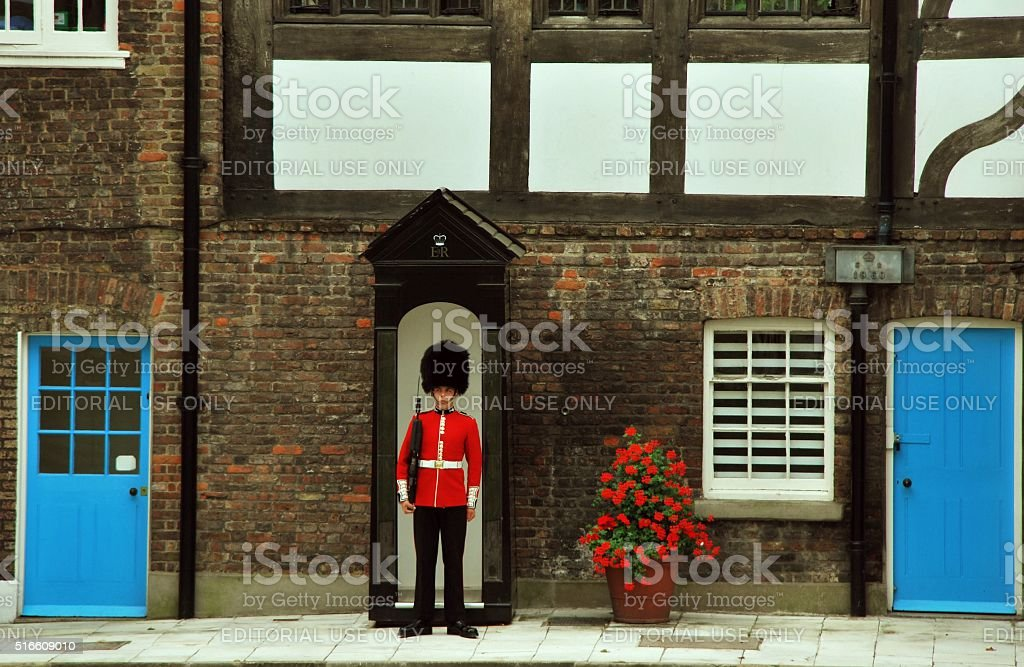 The Guard stock photo