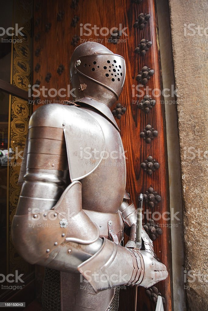 The guardian royalty-free stock photo