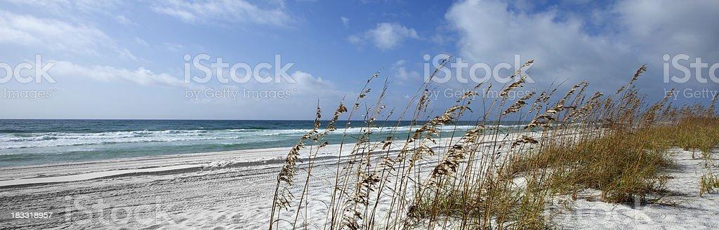 The Gulf of Mexico in Penascola Florida stock photo