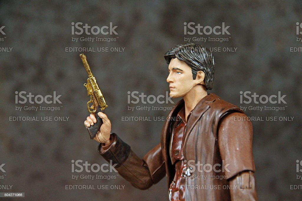 The Gunman stock photo