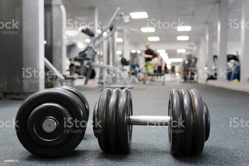 the gym stock photo