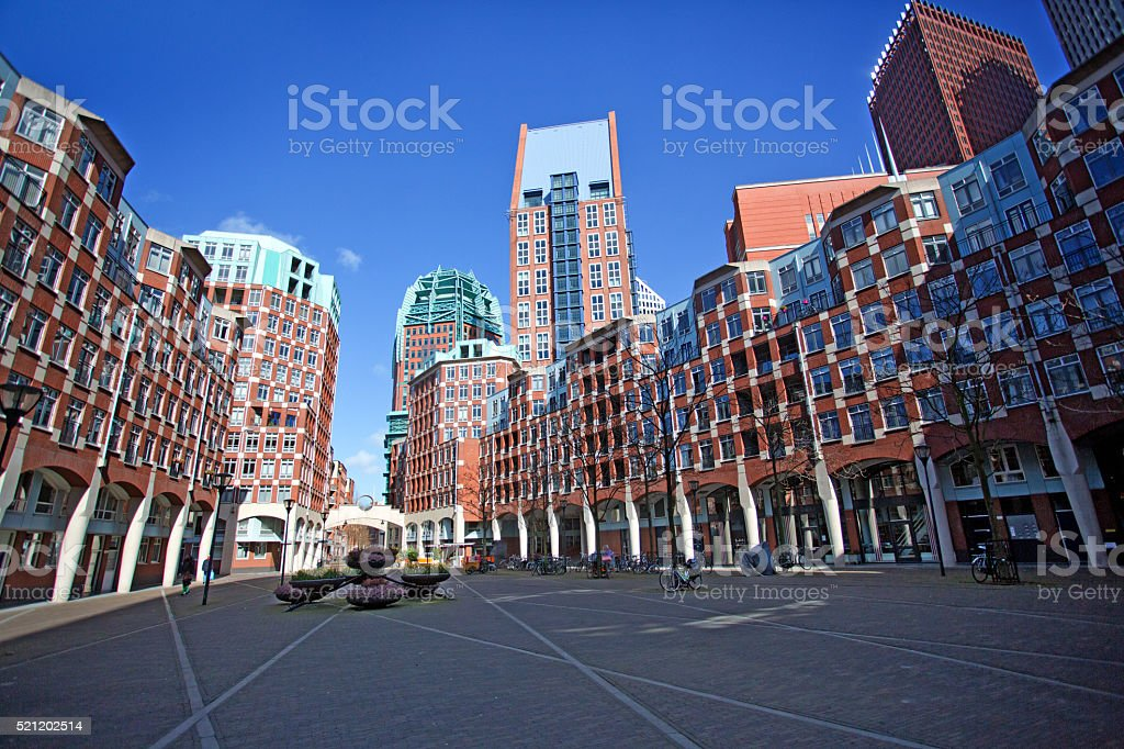 The Hague stock photo