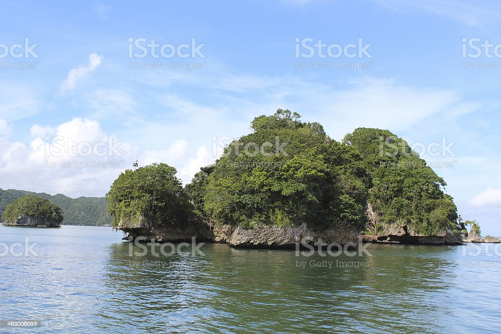 Los Haitises stock photo