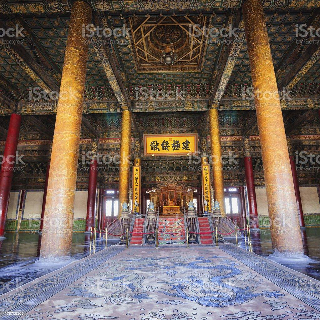 the Hall of Supreme Harmony stock photo