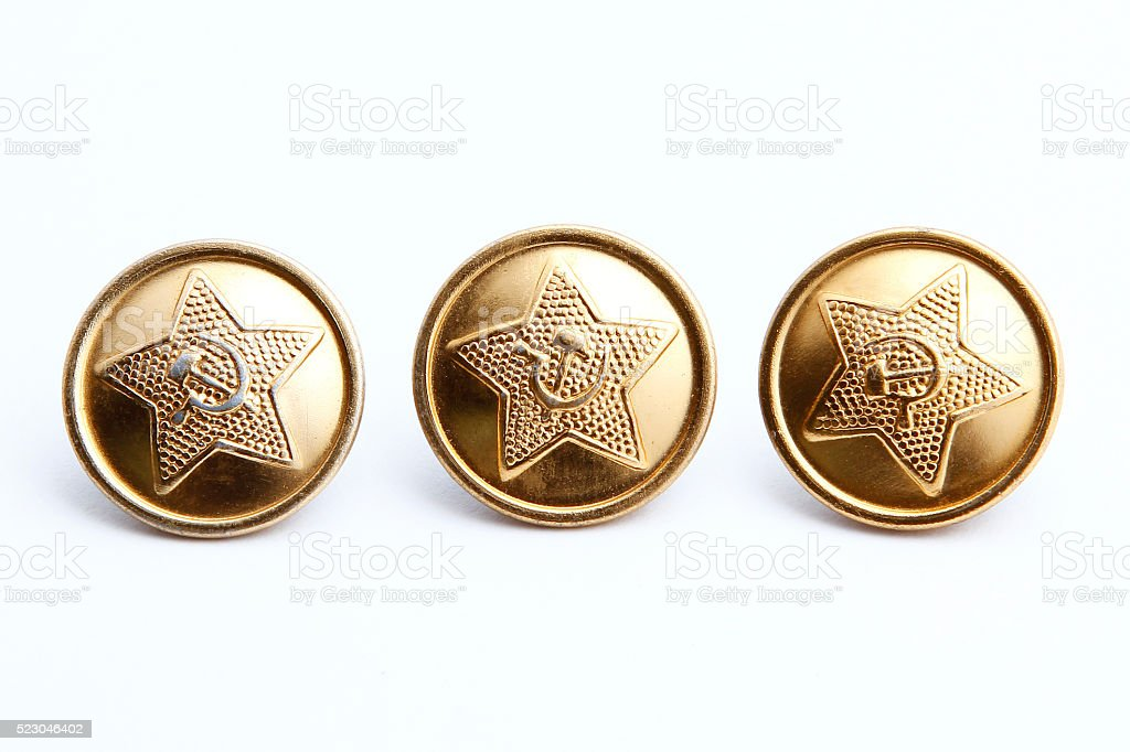 The hammer and sickle of the USSR stock photo