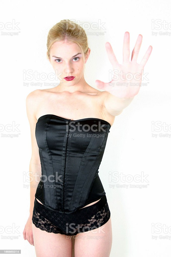 The Hand royalty-free stock photo