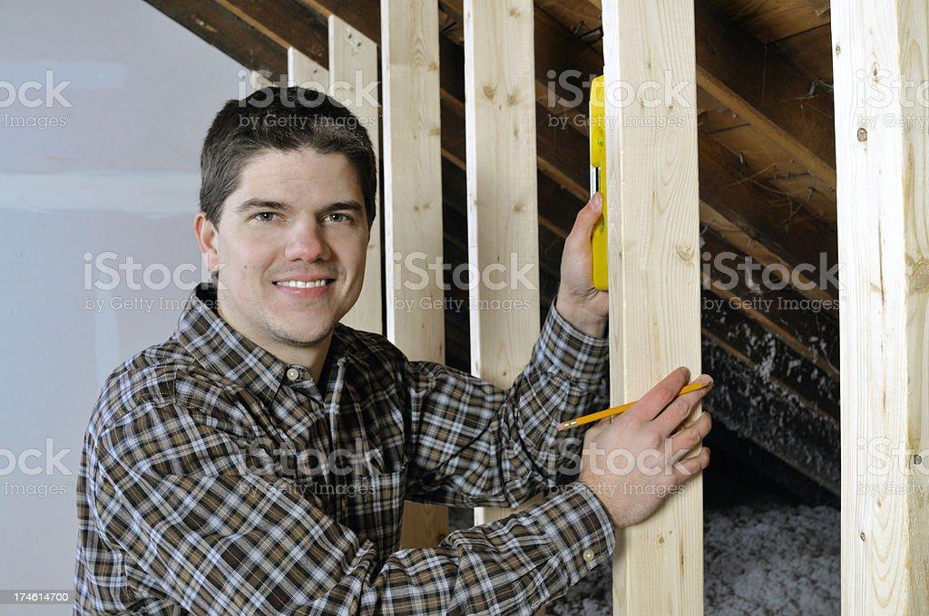 The  Handyman royalty-free stock photo