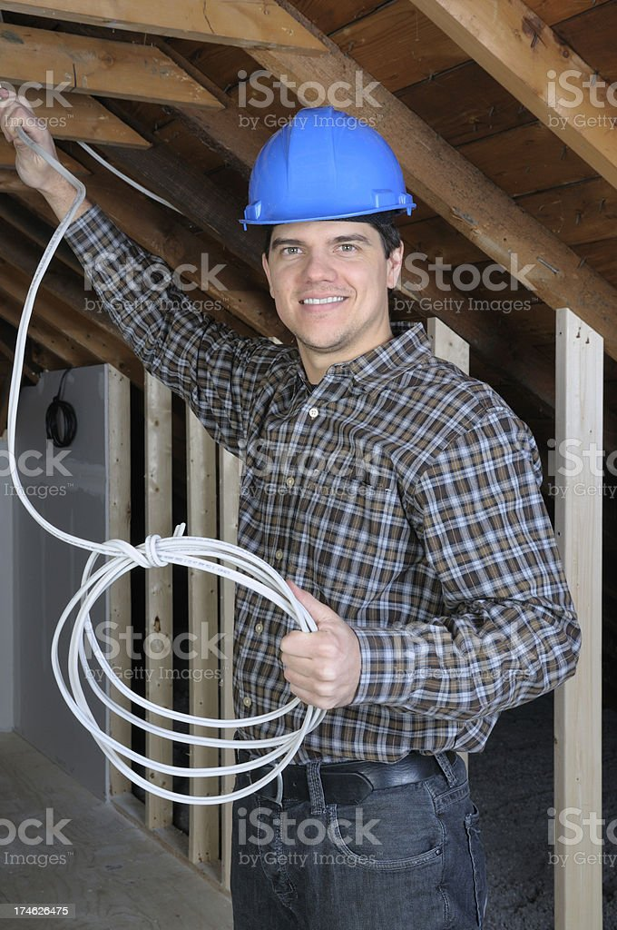 The  Handyman royalty-free stock photo
