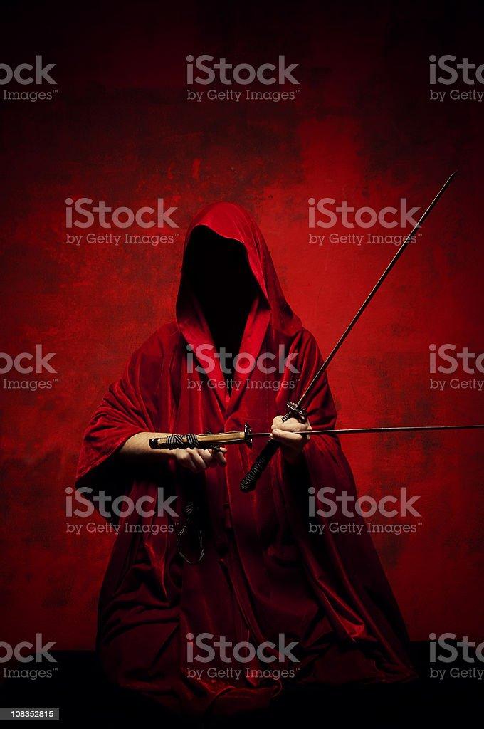 The Hangman stock photo
