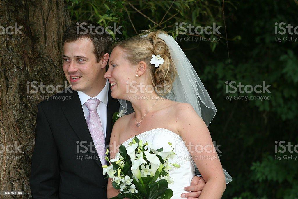 The Happy Couple royalty-free stock photo