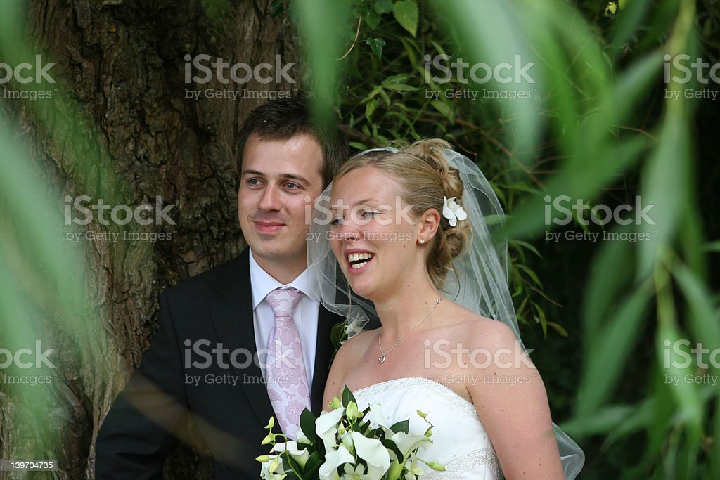The Happy Couple royalty-free stock photo