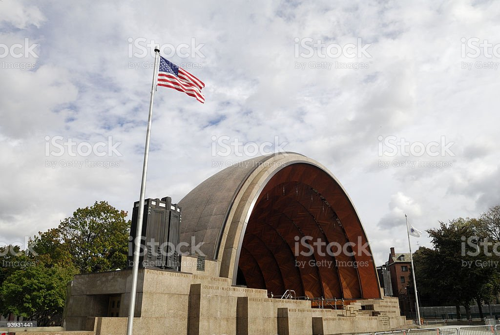 The 'Hatch shell', boston stock photo