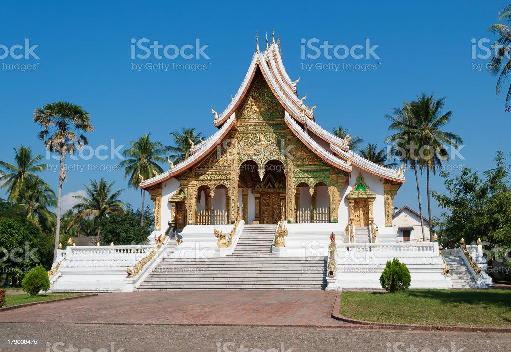 The Haw Pha Bang. Luang Prabang. Laos royalty-free stock photo