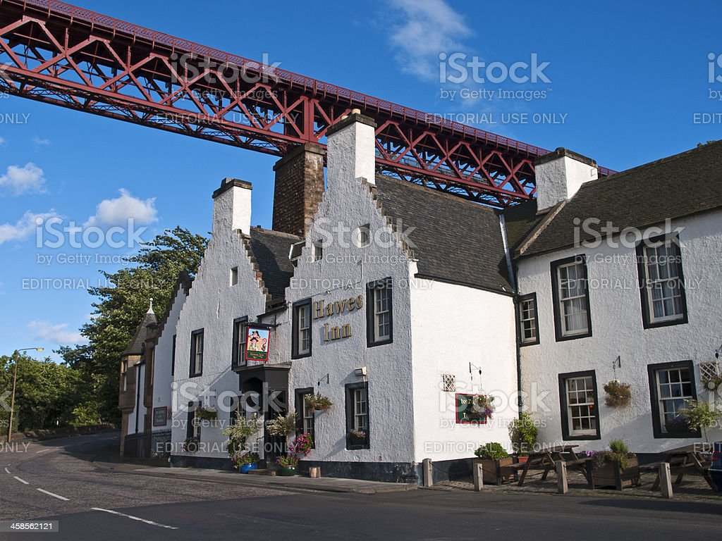 The Hawes Inn royalty-free stock photo