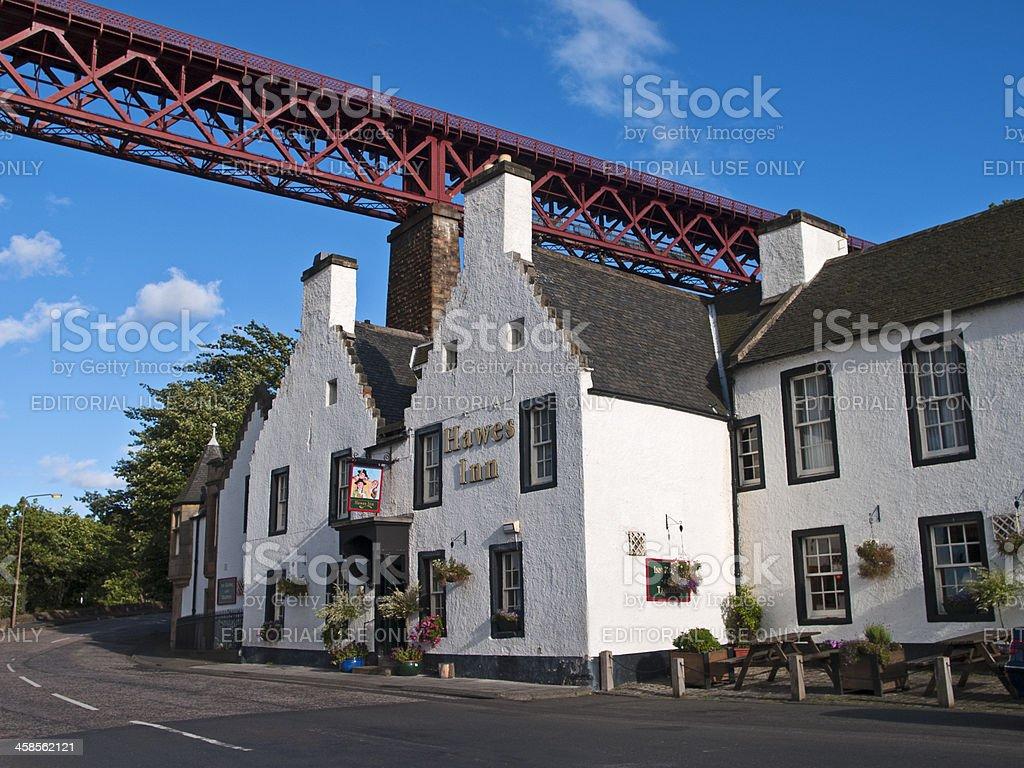 The Hawes Inn stock photo