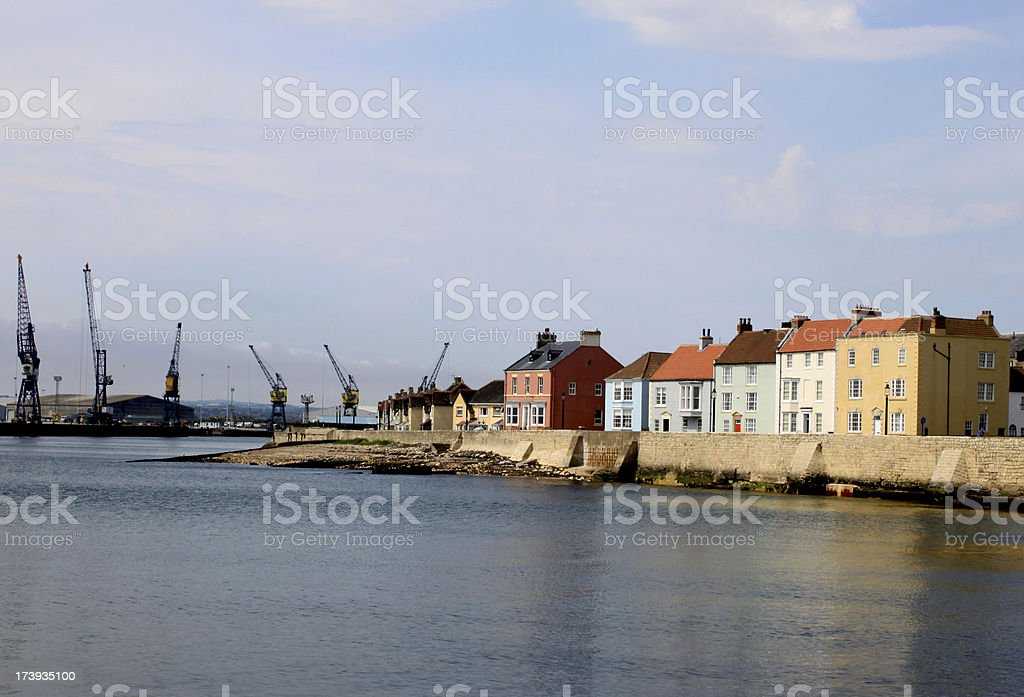 The Headland at Old Hartlepool royalty-free stock photo