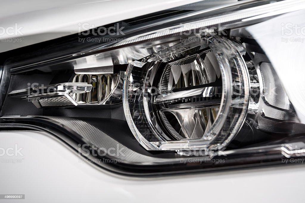 The Headlight stock photo