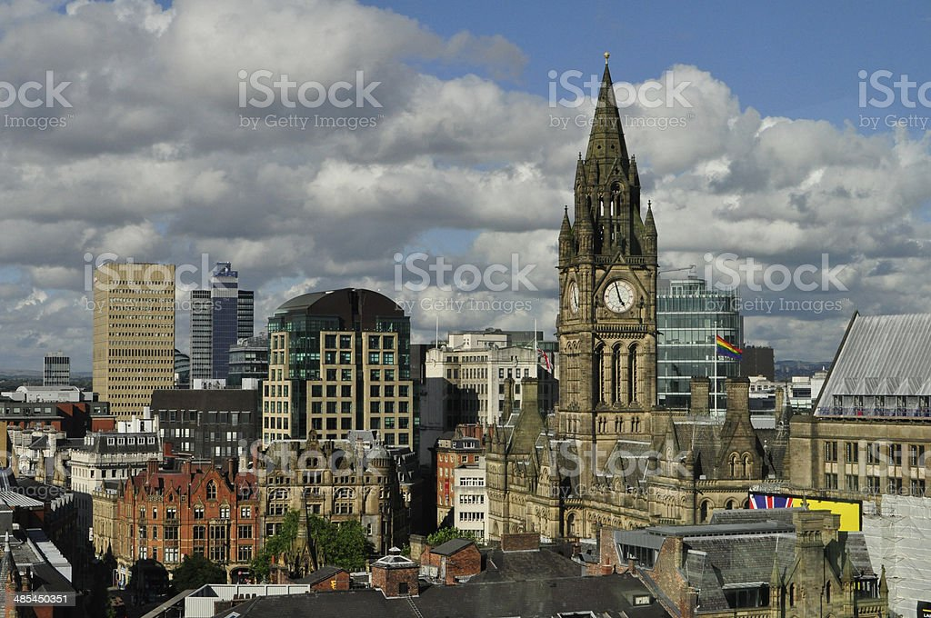 The Heart of Manchester (U.K.) stock photo