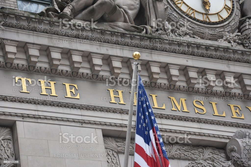 The Helmsley Building in New York stock photo