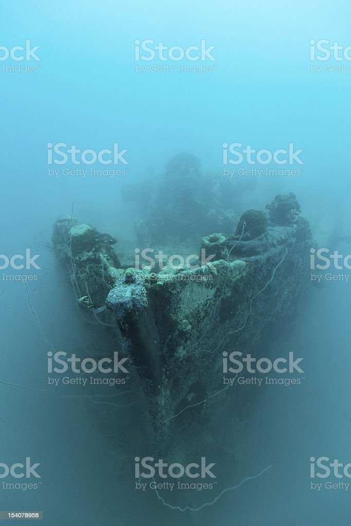 The Helmut Wreck stock photo