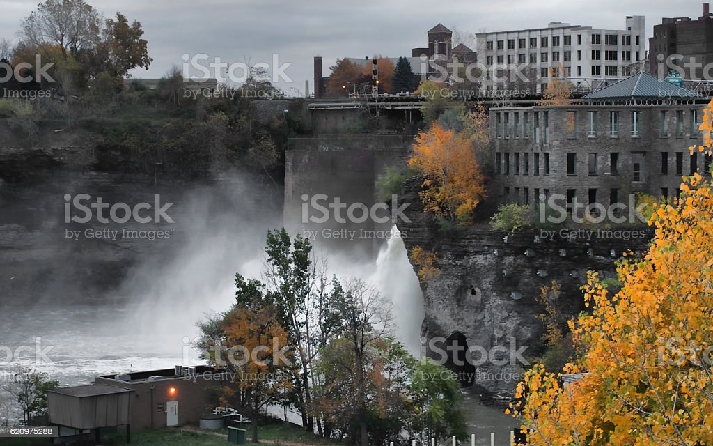The High Falls stock photo