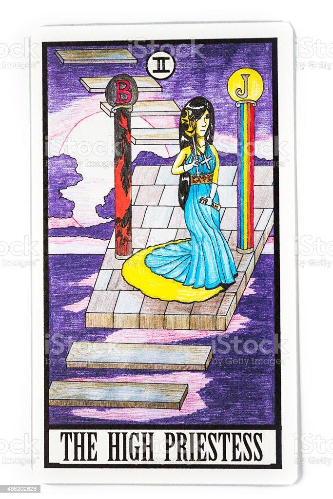 The High Priestess stock photo