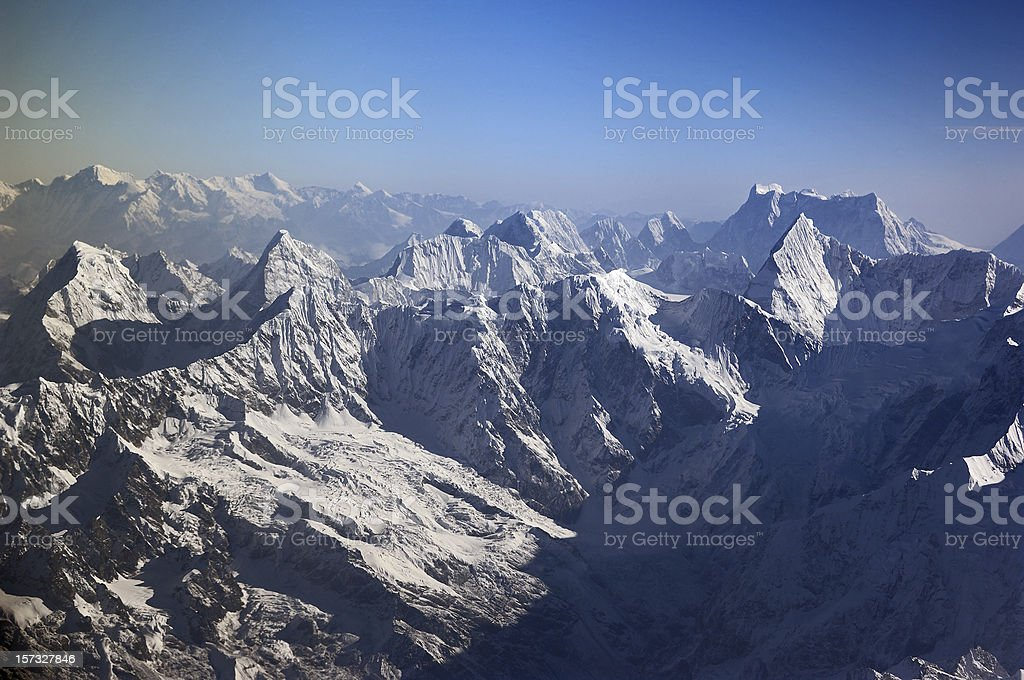 The Himalaya royalty-free stock photo