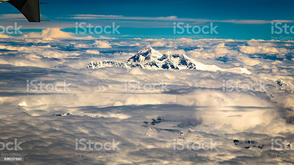 The Himalayas stock photo