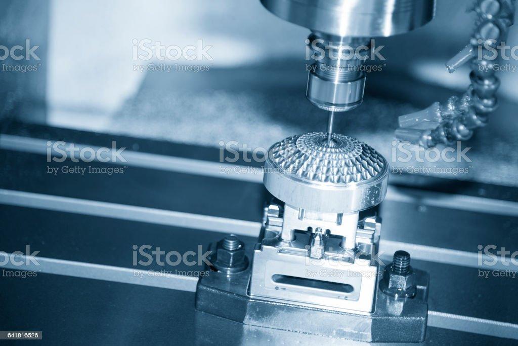 The Hi-precision  CNC milling machine stock photo