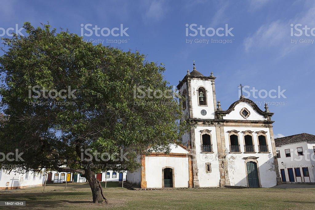 The historic city of Paraty stock photo