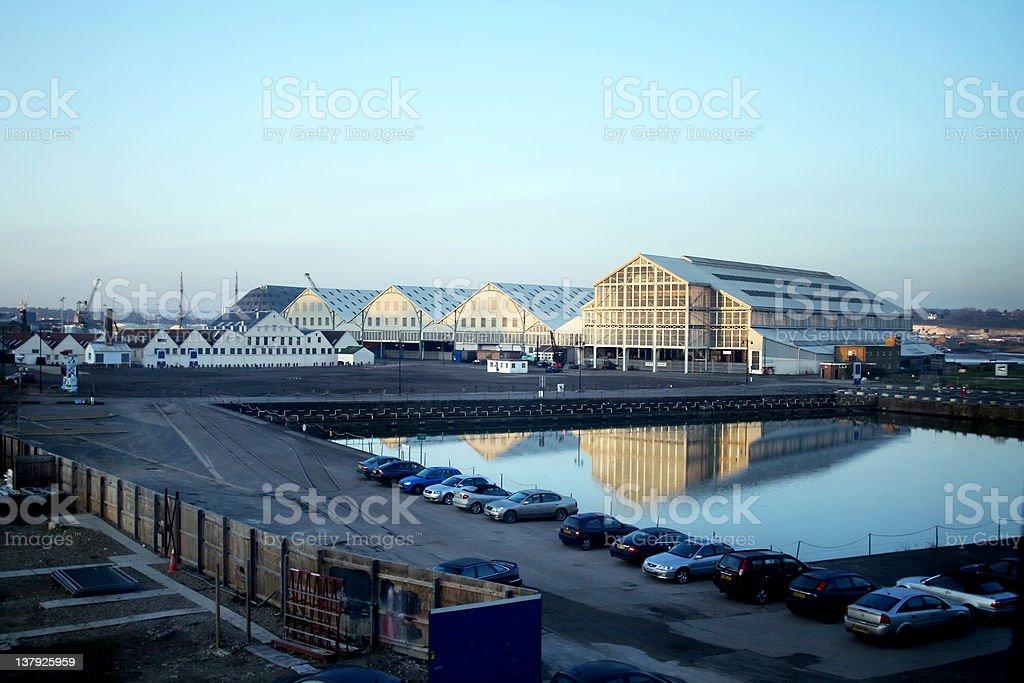 The Historic Dockyard Chatham, Kent stock photo