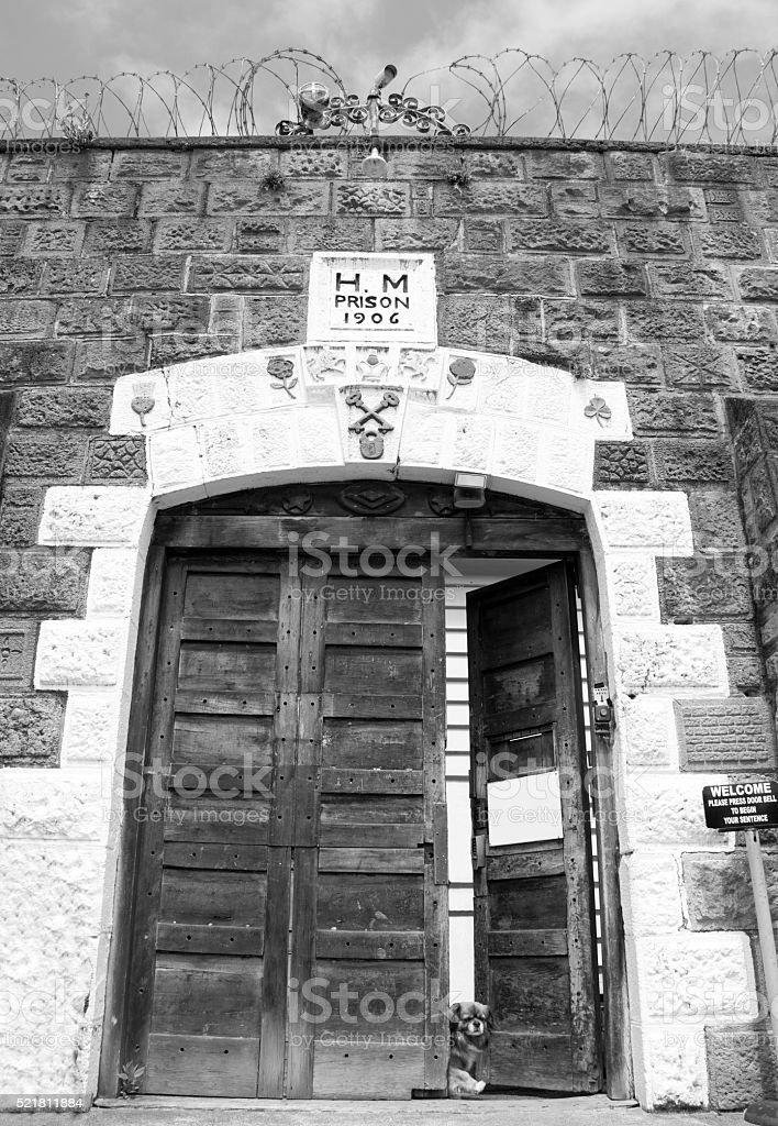The Historic Prison stock photo