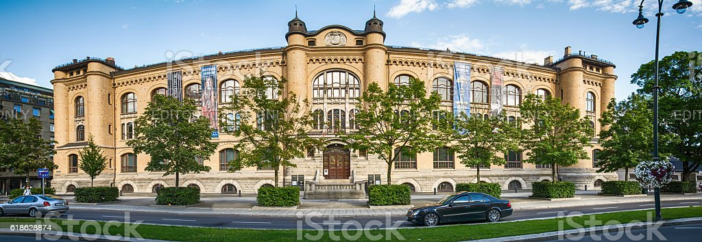 The Historical Museum, Oslo in Norway stock photo