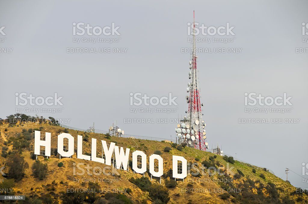 The Hollywood Sign stock photo